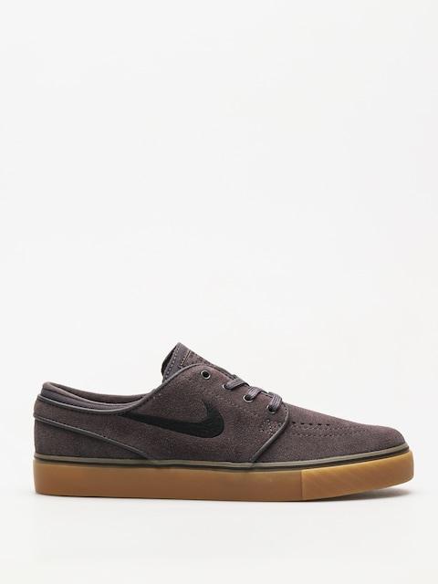 Nike SB Shoes Zoom Stefan Janoski (thunder grey/black gum light brown)