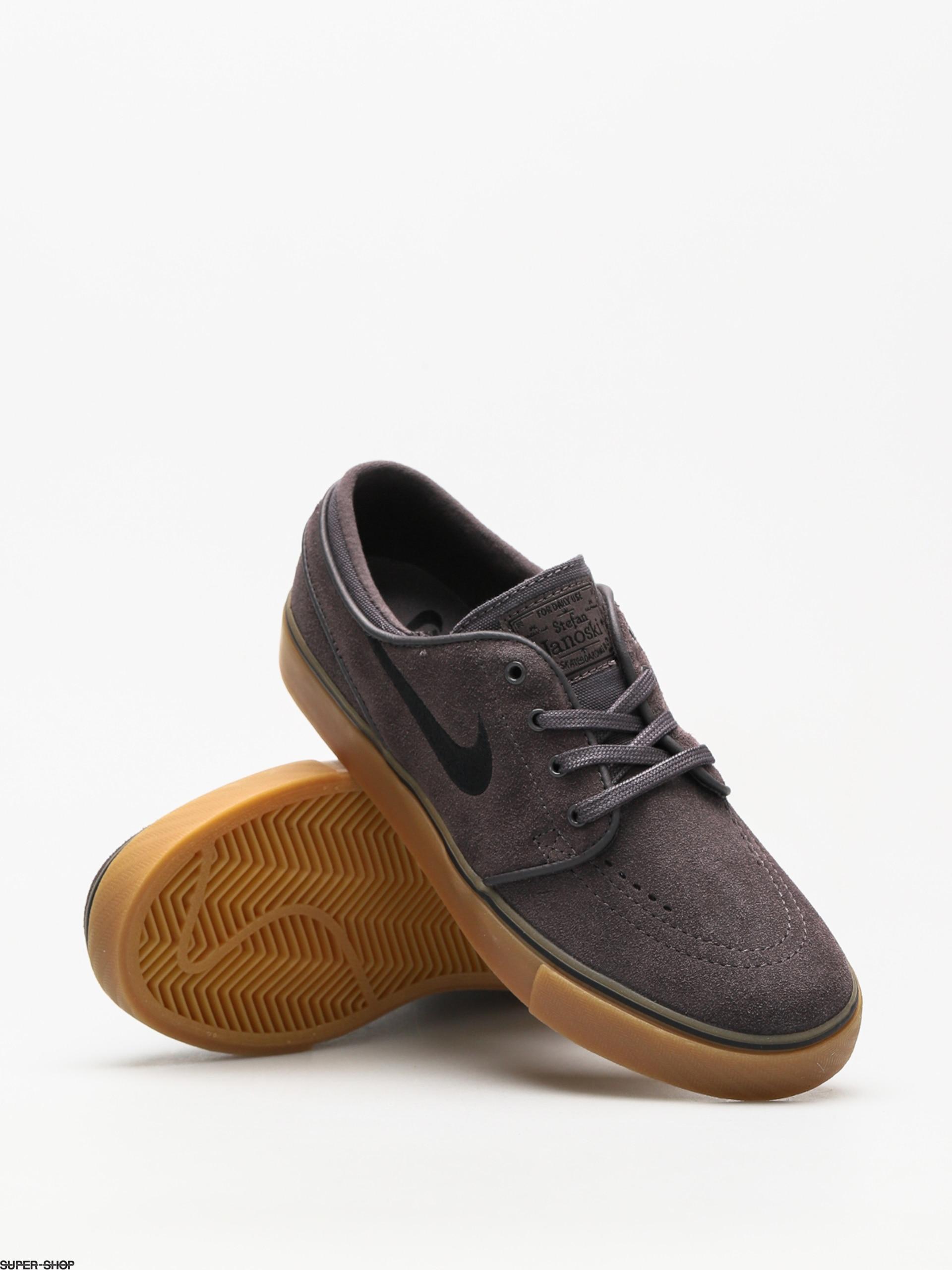 pretty nice 7c9f1 5e055 Nike SB Shoes Zoom Stefan Janoski (thunder grey black gum light brown)