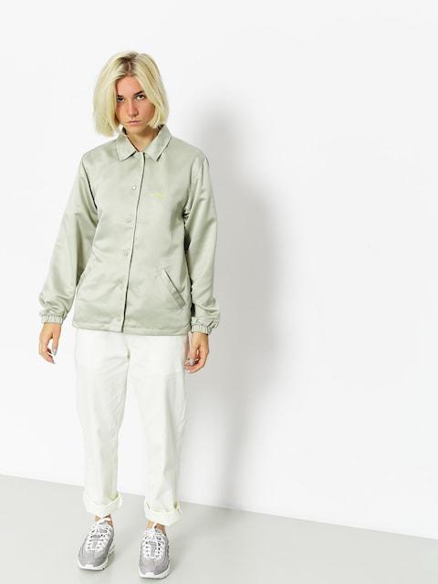 Stussy Jacket Leland Coach Wmn (grey)