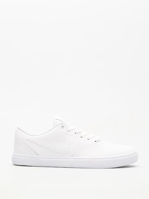 Nike SB Schuhe Sb Check Solarsoft (white/white white)