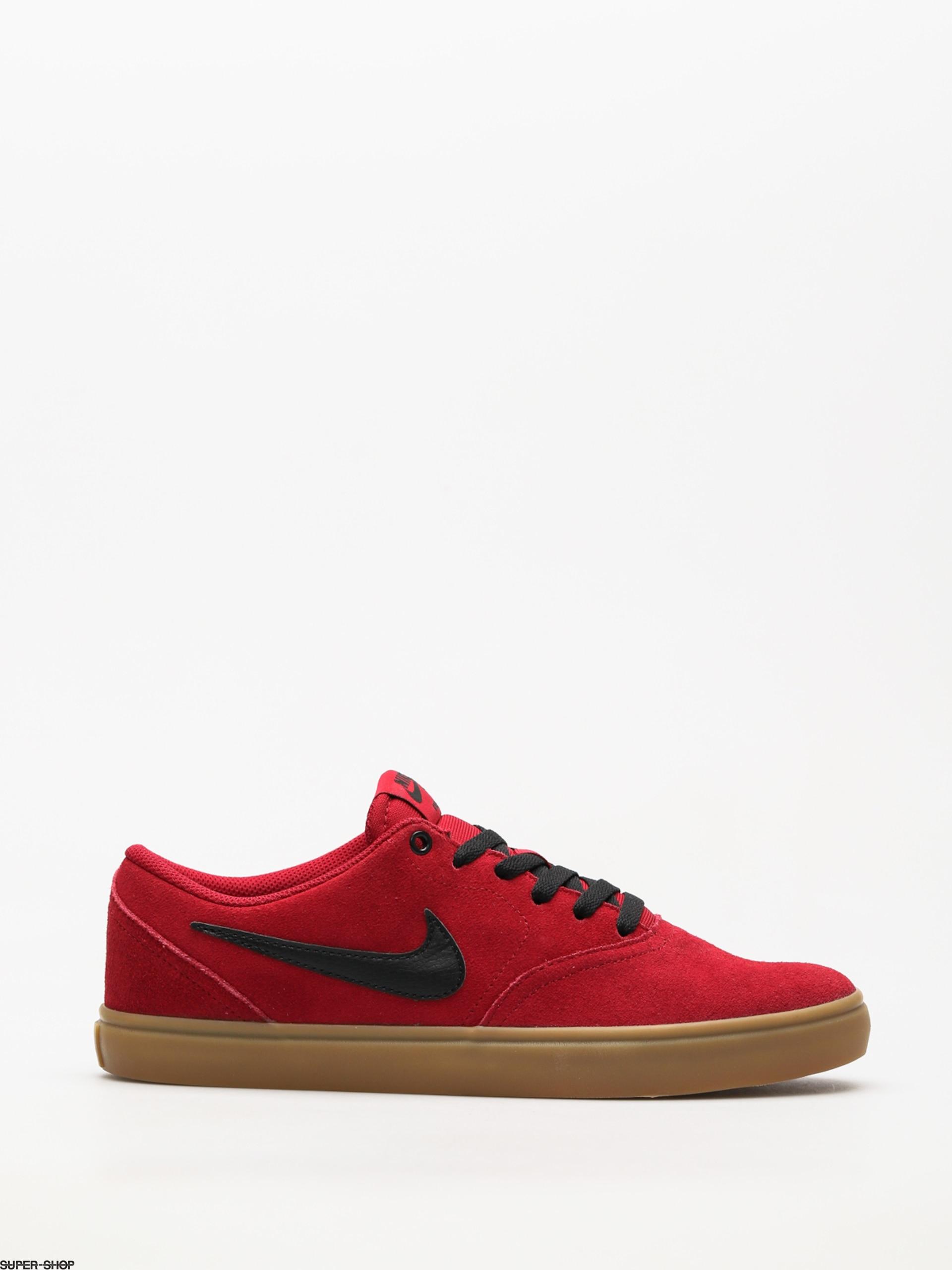 Nike SB Shoes Sb Check Solarsoft (red