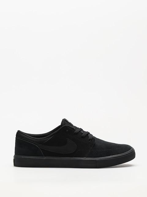 Nike SB Schuhe Sb Solarsoft Portmore II (black/black)