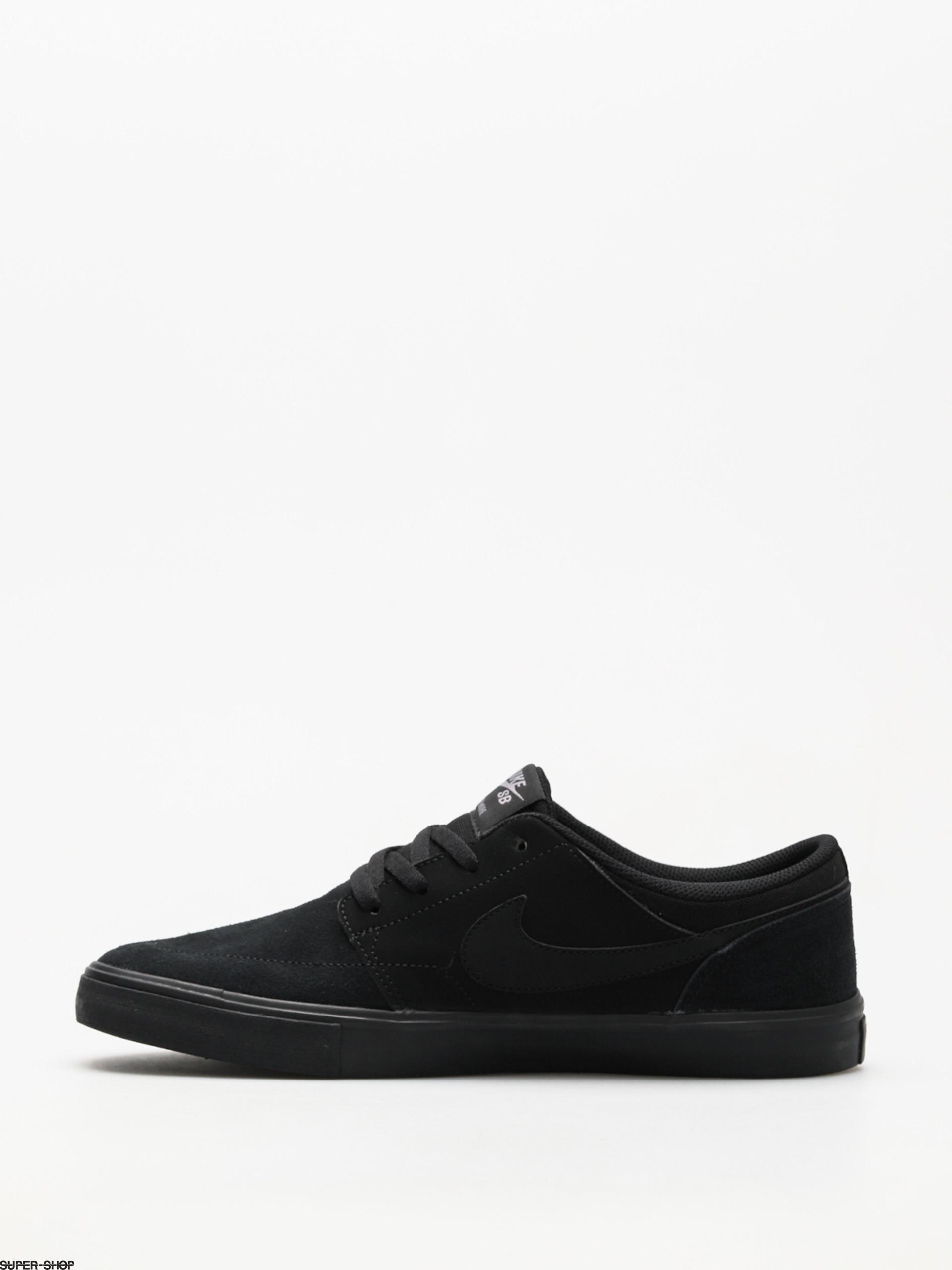 Nike SB Shoes Sb Solarsoft Portmore II (blackblack)