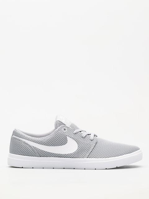 Nike SB Schuhe Sb Portmore II Ultralight (wolf grey/white)