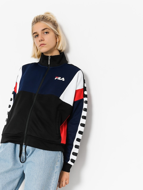 Fila Jacke Shelby Track Wmn (black/peacoat/high risk red)