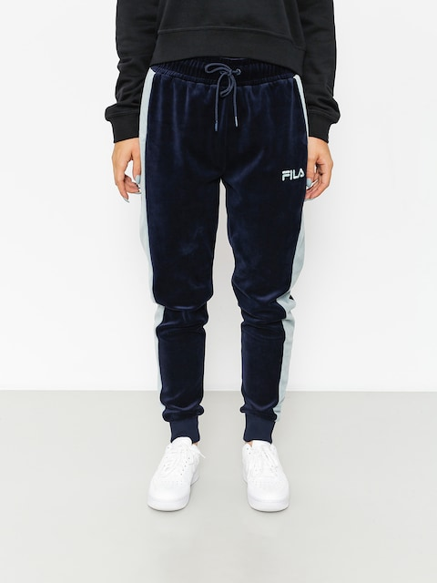 Fila Pants Track Velour Carter (peacoat)