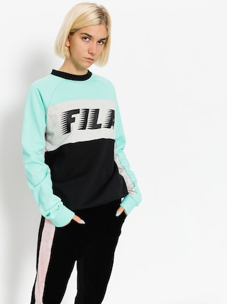 Fila Sweatshirt Layton Colour Block Wmn (black/cockatoo)