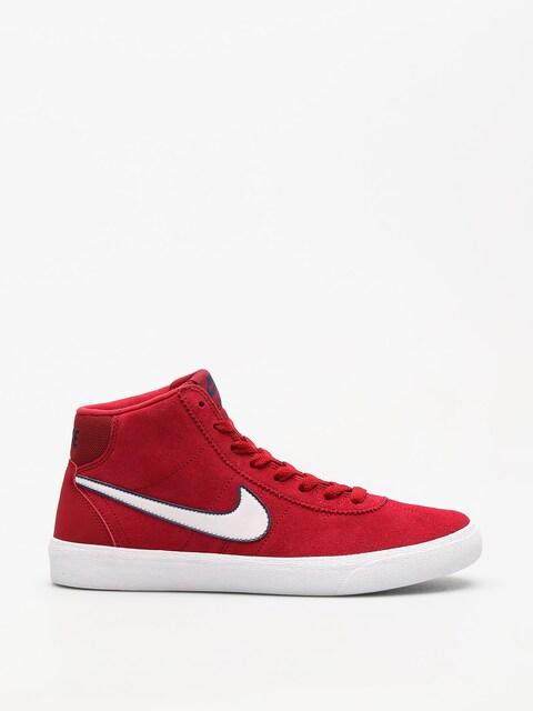 Nike SB Schuhe Sb Bruin Hi Wmn (red crush/vast grey white)