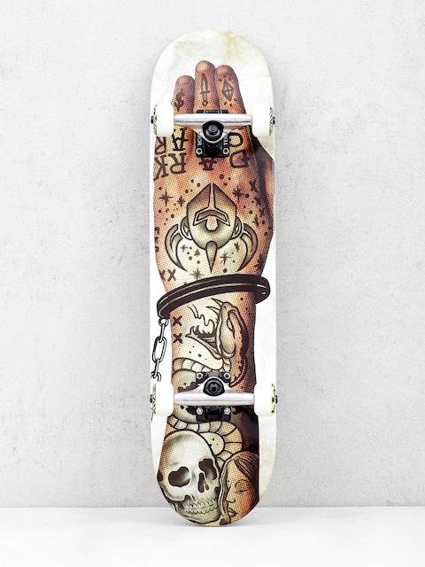 Darkstar Skateboard Freehand Hyb (stone)