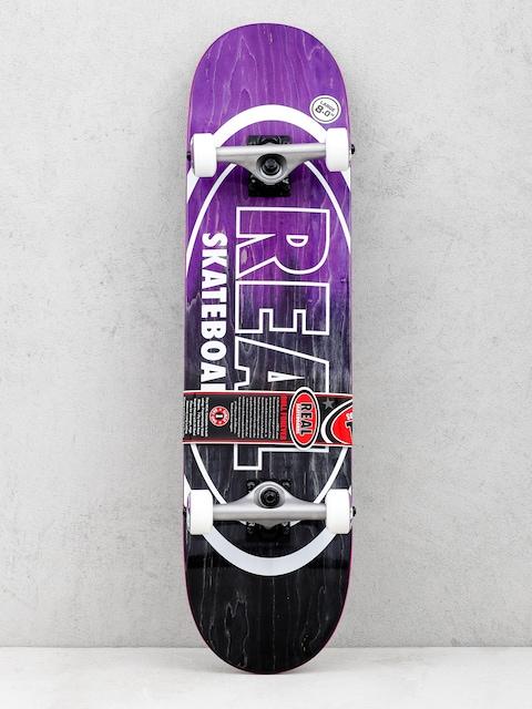 Real Skateboard Metallic Oval Fades (purple/dark green)