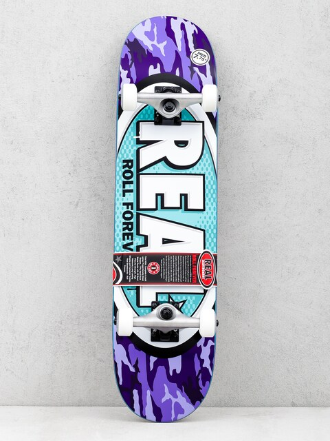 Real Skateboard New Avol Ovals (purple)