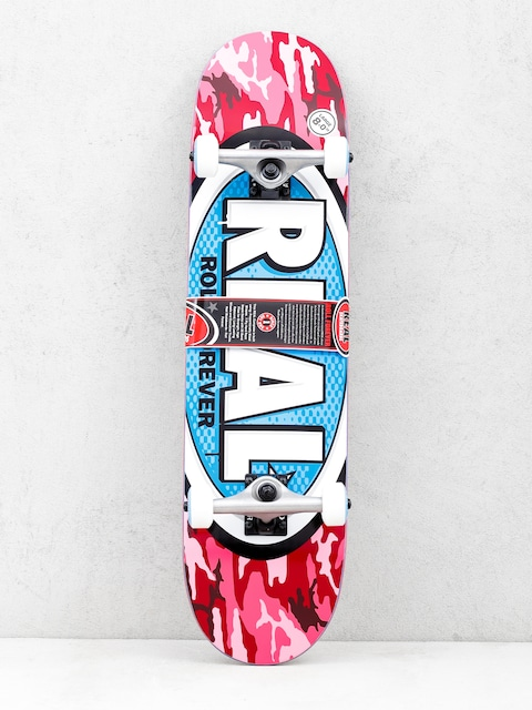Real Skateboard New Avol Ovals (camo pink)