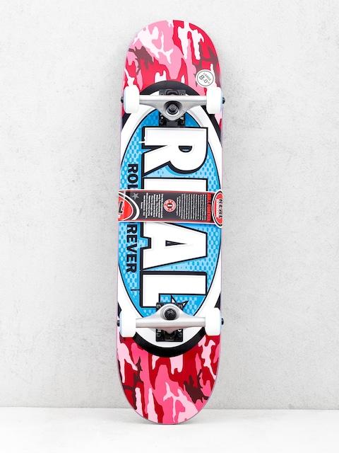 Real Skateboard New Avol Ovals (camo pink)