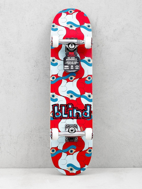 Blind Skateboard Tile Style Youth (red/blue)