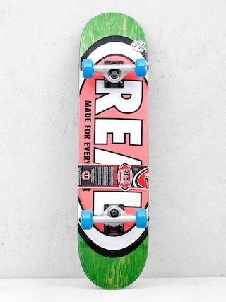 Real Skateboard Team Ovals Mini (green)