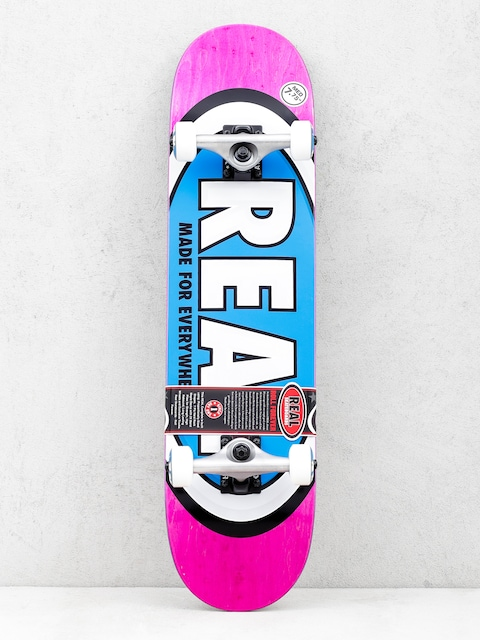 Real Skateboard Team Ovals (pink)