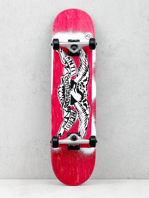 Antihero Skateboard Stencil Eagle (red)