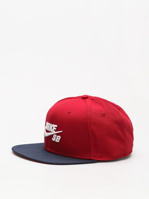 Nike SB Cap Sb Icon ZD (red crush/obsidian/white)
