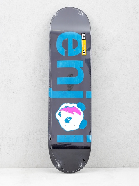 Enjoi Deck No Brainer (black/blue)
