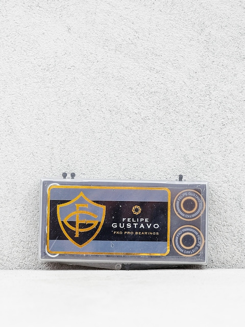 FKD Bearings Pro Bearings Felipe Gustavo (black/gold)