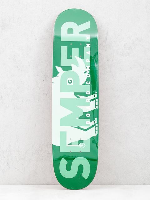 Semper Skateboards Deck Rhino (green)
