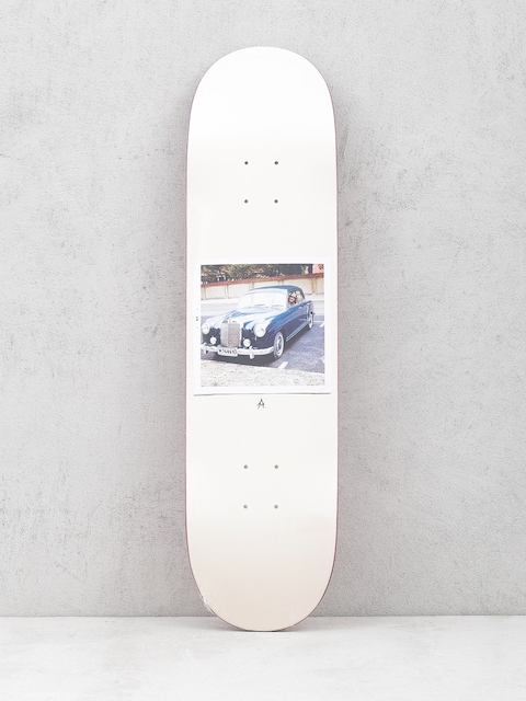 Polar Skate Deck Team Marta Alv (white)