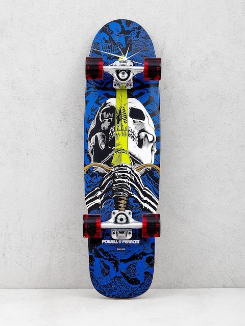 Powell Peralta Cruiser Mini Skull And Sword (blue/red)
