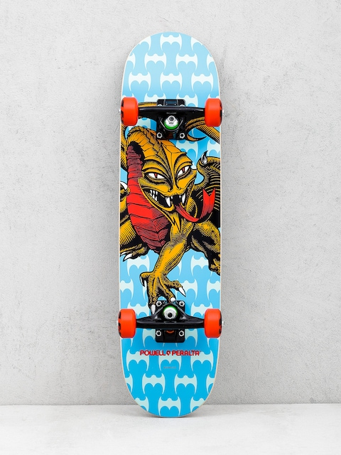Powell Peralta Skateboard Cap Dragon 13 One Off (blue)