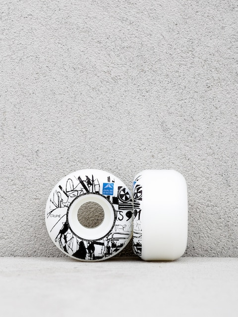 Crupie Wheels Ribeiro Will Barras (white)