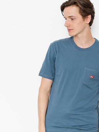Brixton T-shirt Stith Wl Pkt (dusty blue)