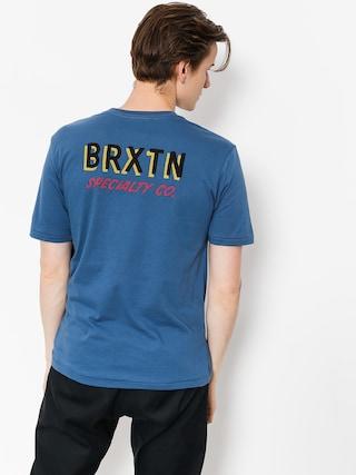 Brixton T-shirt Bodega Prt (deep blue)