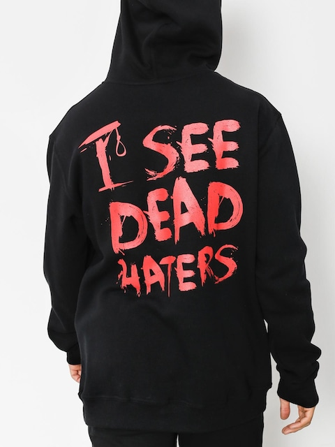 Diamante Wear Hoody I See Dead Haters HD (black/red)