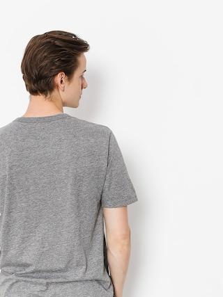 Brixton T-shirt Proxy Henley (heather grey)