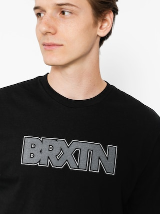 Brixton T-shirt Edison Prt (black)
