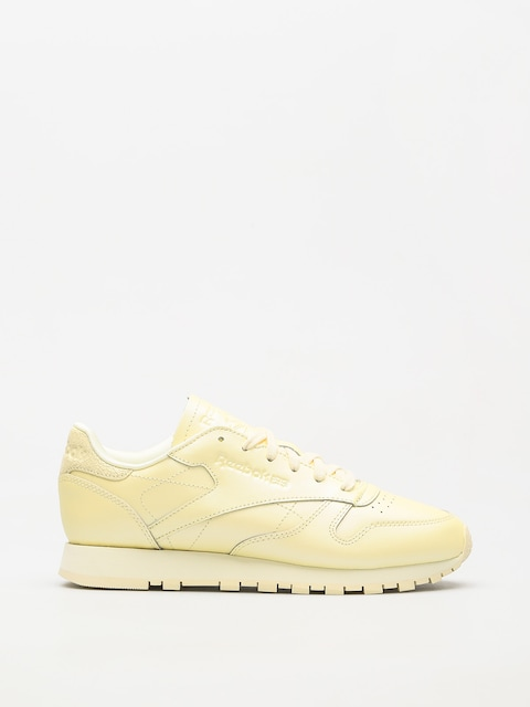 Reebok Shoes Classic Leather Wmn (mid washed yellow)