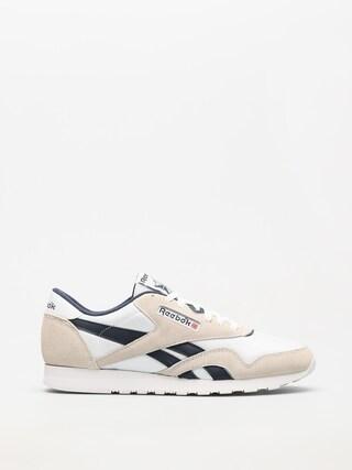 Reebok Shoes Cl Nylon R (archive white/collegiate navy)