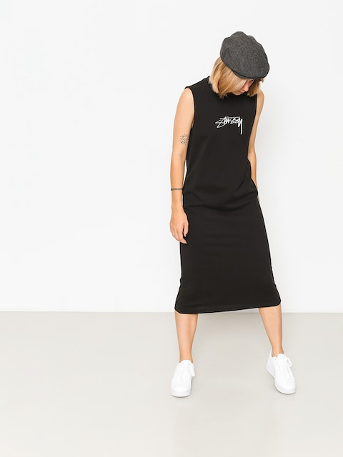 Stussy Kleid Ezra Muscle Dress Wmn (black)