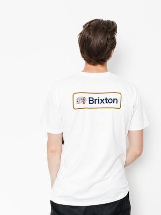 Brixton T-shirt Valspar II Stt (white)
