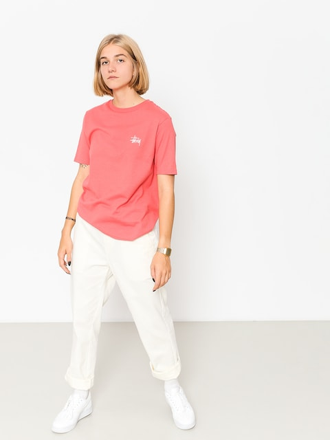 Stussy T-shirt Basic Wmn (rose)