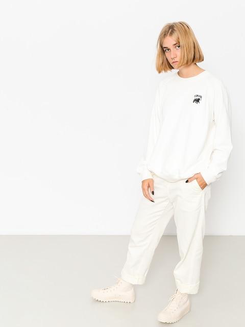 Stussy Sweatshirt Otto Raglan Wmn (off white)