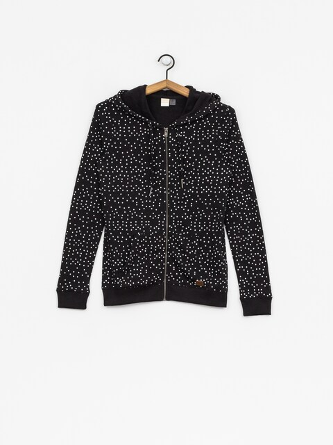 Roxy Hoodie Trippin Printed HD Wmn (true black dots for)