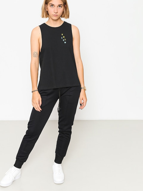 Volcom T-Shirt Get High Neck Wmn (blk)