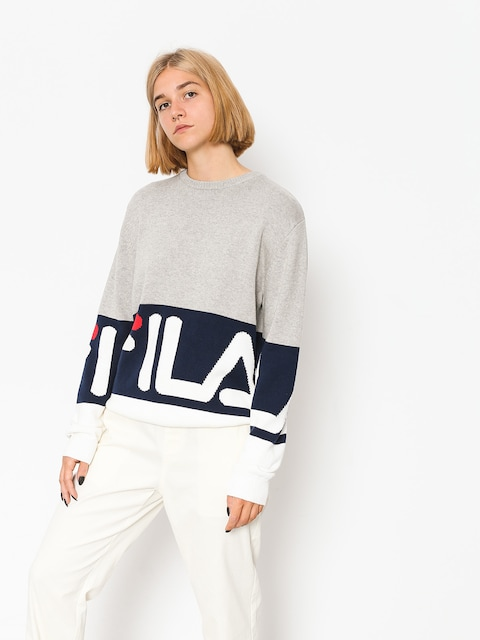Fila Sweater Blake Wmn (grey melange)