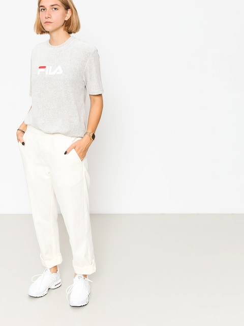Fila T-shirt Richard Velvet Wmn (light grey melange bros)