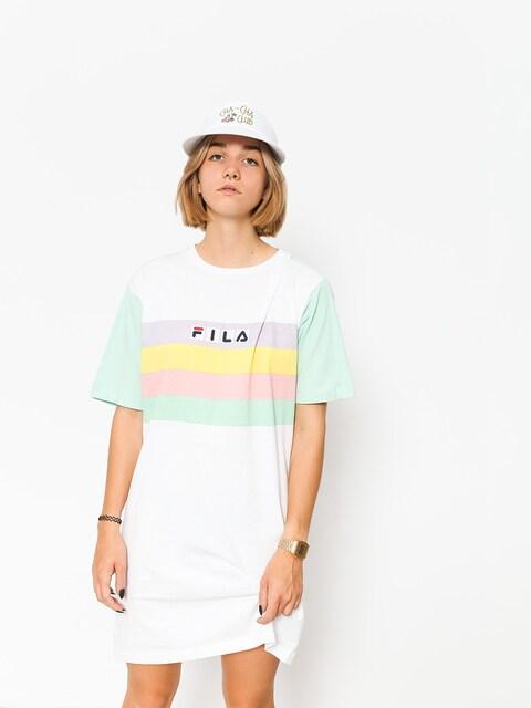 Fila Dress Jasmine Wmn (liche/bright white)