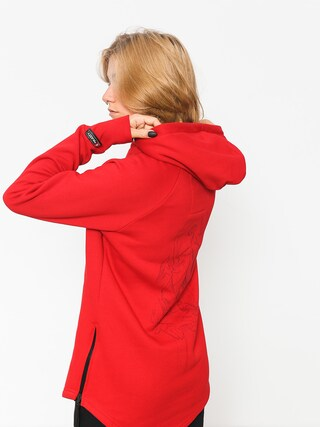 Majesty Hoody Velvet Wmn (red)