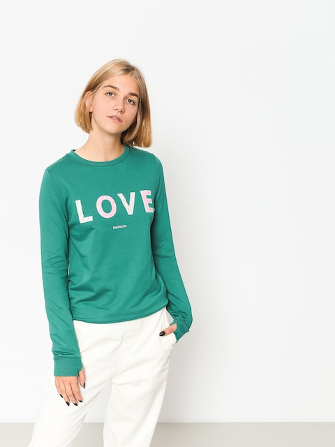 Femi Stories Sweatshirt Love Wmn (tgr)