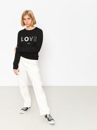 Femi Stories Sweatshirt Love Wmn (blk)