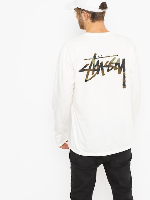 Stussy Longsleeve Camo Stock Pig Dyed Pkt (natural)