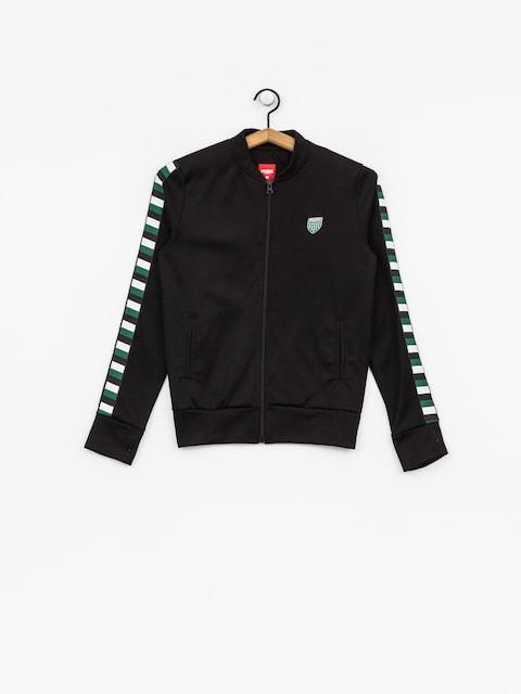 Prosto Sweatshirt Ribbon Zip Wmn (black)